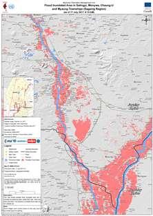 MapFloodSalingyi Monywa ChaungU and Myaung Sagaing As of 17
