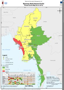 Mapmyanmar multi hazard profileoverall score map as of 2015 preview image gumiabroncs Images